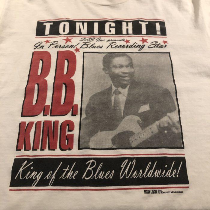 90s B.B. KING Tee ユニセックス