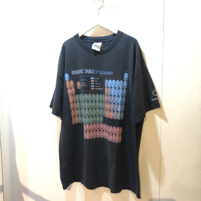 '02 FERIODIC TABLE of The Elements Tee ユニセックス