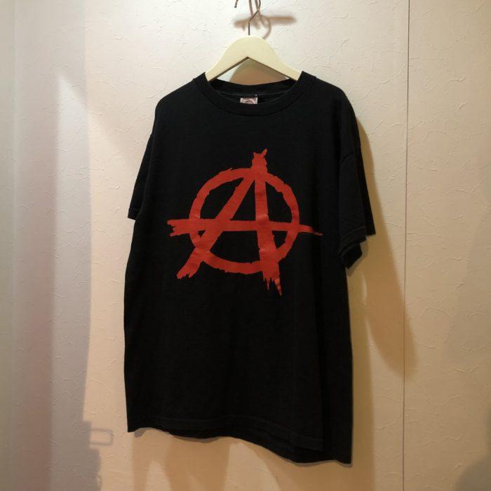 1997 FASHION VICTIM anarchy symbol tee ユニセックス