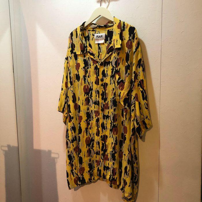 FLAX Rayon S/S shirt ユニセックス