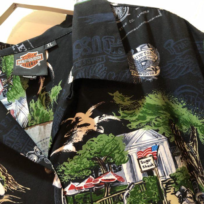 Harley Davidson hawaiianshirts レディース