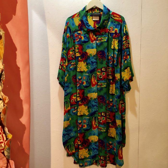 80s colorful rayon shirts ユニセックス