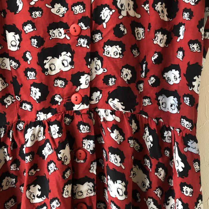 US Made BettyBoop dress レディース