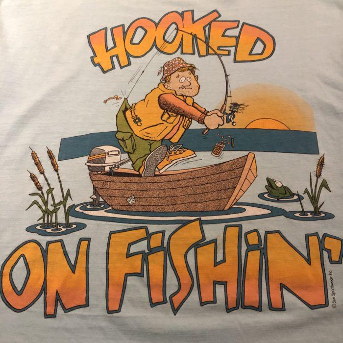 HOOKED OF Fishin Tee ユニセックス