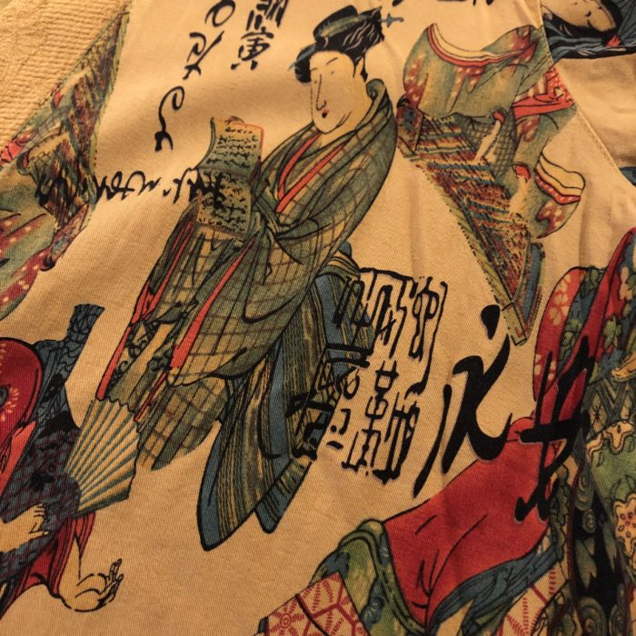 USA製 浮世絵柄 羽織り ユニセックス