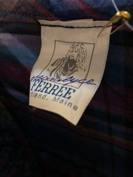 80s -Manalyce Ferree チェック柄 ジャケット ユニセックス
