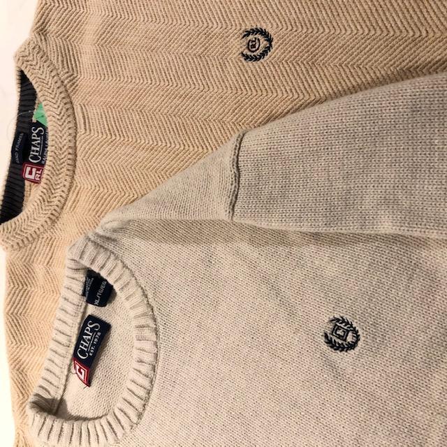 CHAPSのコットンニットセーター ユニセックス