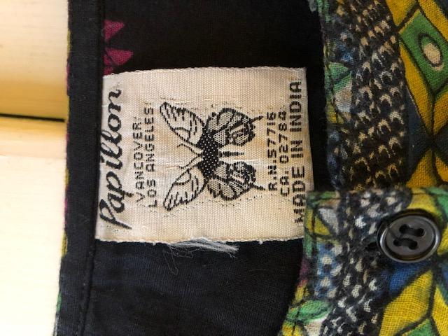 Papillon 70s- インド綿チュニック レディース