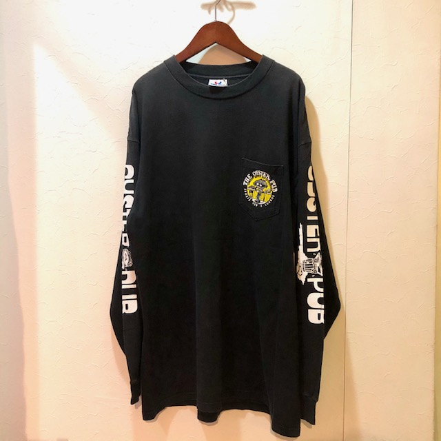 90s- THE OYSTER PUB L/S Tee ユニセックス